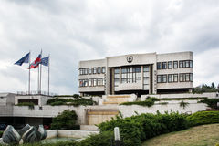 Parliament building in Bratislava, Slovakia Stock Photos