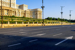 Parliament building in Bucharest Royalty Free Stock Photography