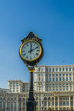 Parliament building in Bucharest Romania also called Casa Poporulu Royalty Free Stock Images