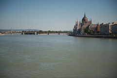 Parliament Building in Budapest Royalty Free Stock Image