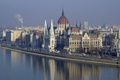 Parliament Building Budapest Royalty Free Stock Images