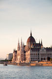 The Parliament Building in Budapest Royalty Free Stock Photos