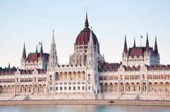 The Parliament Building in Budapest, capital of Hungary Royalty Free Stock Photos