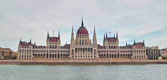 Parliament building in Budapest Royalty Free Stock Photo