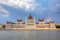 Parliament Building in Budapest, Hungary. Royalty Free Stock Images