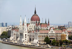 Parliament, Budapest, Hungary Royalty Free Stock Photography