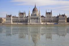 Parliament Building in Budapest. Hungary Stock Photo