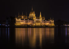 Parliament building in Budapest, Hungary Royalty Free Stock Image