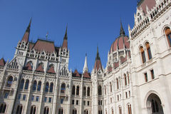Parliament building in Budapest Stock Photography