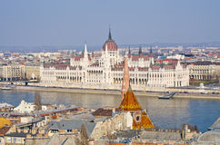 Parliament building in Budapest, Hungary Stock Photos