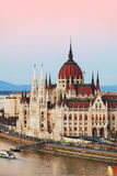 Parliament building in Budapest, Hungary Stock Photography