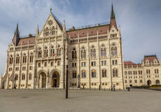 The parliament building in Budapest, Hungary Stock Photos
