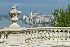 Parliament Building at Budapest, Hungary Royalty Free Stock Photo