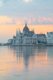 Parliament building in Budapest, Hungary Royalty Free Stock Photo