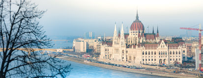 Parliament building in Budapest, Hungary, Europe. Stock Image