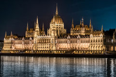 Parliament building in Budapest, Hungary, Europe. Stock Images