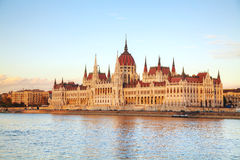 Parliament building in Budapest, Hungary Stock Image