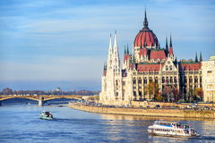 Parliament building, Budapest, Hungary Stock Photo