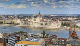 Parliament Building in Budapest Royalty Free Stock Images