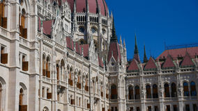 Parliament Building in Budapest Royalty Free Stock Photography