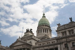Parliament building in Buenos Aires Stock Photo