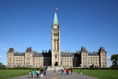 Parliament Building of Canada Royalty Free Stock Photo
