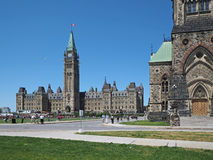 Parliament building of Canada Royalty Free Stock Images