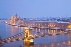 Cityscape of  Budapest, Hungary Royalty Free Stock Image