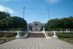 Parliament building in Chisinau, Moldova Royalty Free Stock Images