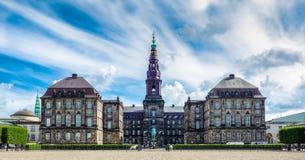 Parliament in Copenhagen stock photos