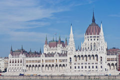 Parliament Building at Budapest, Hungary Royalty Free Stock Image