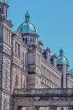 Parliament Building in Downtown Victoria, British Columbia Royalty Free Stock Image