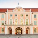 Parliament Building Of Estonia At Tallinn Stock Photography