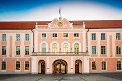Parliament Building Of Estonia At Tallinn Royalty Free Stock Image