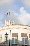 Parliament building flag Bridgetown Barbados Stock Photos
