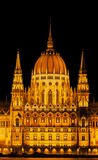 The parliament building of Hungary. In Budapest Stock Photo
