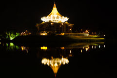 Parliament Building of Kuching Stock Photography
