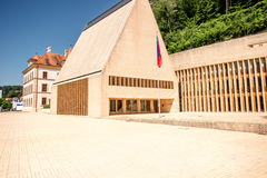 Parliament building in Liechtenstein Royalty Free Stock Images