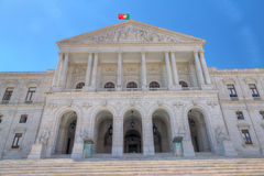 Parliament building, Lisbon, Portugal Royalty Free Stock Photography