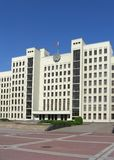 Parliament building in Minsk Stock Image