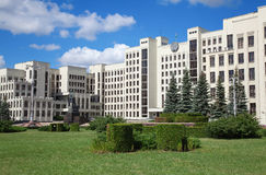 Parliament building in Minsk. Belarus Royalty Free Stock Photo