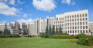 Parliament building in Minsk. Belarus Stock Photography