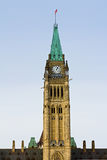 Parliament Building in Ottawa Royalty Free Stock Photography
