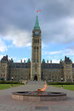 Parliament building in Ottawa, Canada Stock Photo