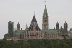 Parliament Building Ottawa Canada Royalty Free Stock Image