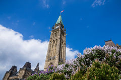 Parliament Building in Ottawa Canada Royalty Free Stock Images