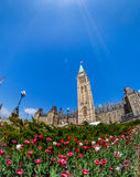 Parliament Building in Ottawa Canada Royalty Free Stock Photography