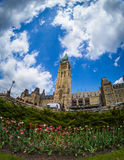 Parliament Building in Ottawa Canada Stock Photography