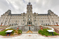 Parliament Building - Quebec City. Quebec Parliament Building, a Second Empire architectural style building in Quebec City, Canada Royalty Free Stock Image