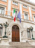Parliament Building in Rome, Italy. Stock Photo